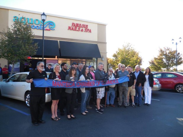 Aquos Pools Ribbon Cutting ~ October 2016