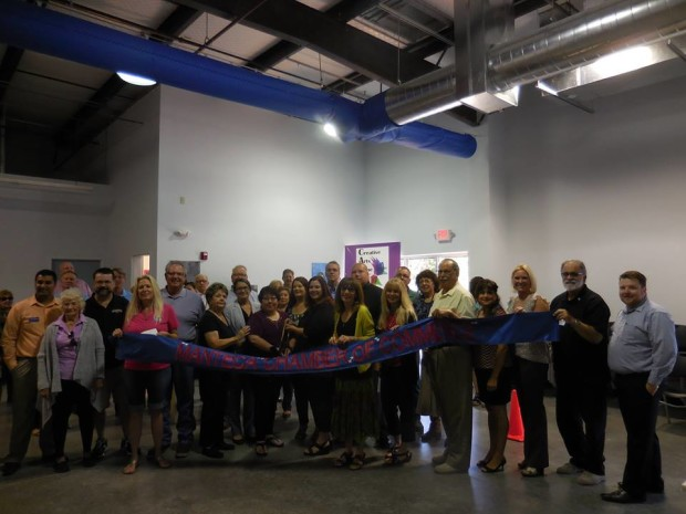 Creative Arts Zone Ribbon Cutting ~ September 2016