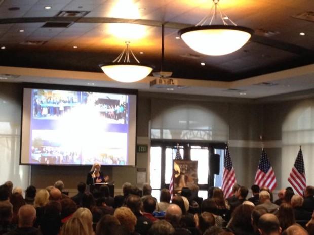 Chamber President Debbie Baglietto